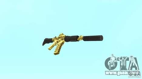 [GOLD] m4 para GTA San Andreas