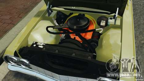 Chevrolet Impala SS 1964 para GTA 4 vista superior
