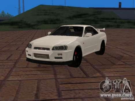 Nissan Skyline GT-R R34 Tunable para GTA San Andreas