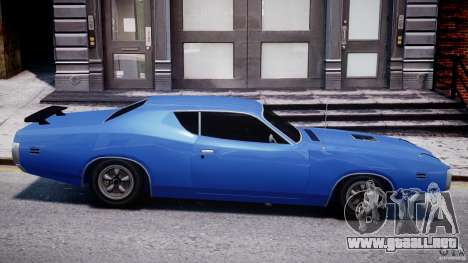 Dodge Charger RT 1971 v1.0 para GTA 4 left