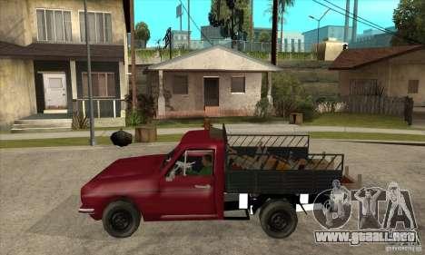 Anadol Pickup para GTA San Andreas left