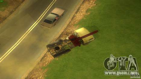 Kamaz para la visión correcta GTA San Andreas