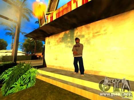 Mod Beber Cerveja V2 para GTA San Andreas sucesivamente de pantalla