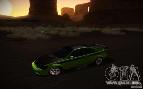 GTA IV Sultan RS para GTA San Andreas vista posterior izquierda
