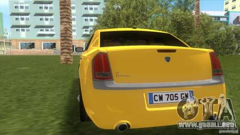 Lancia Nuova Thema para GTA Vice City