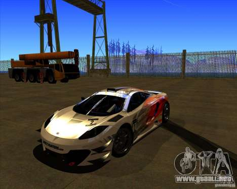 McLaren MP4 - SpeedHunters Edition para GTA San Andreas