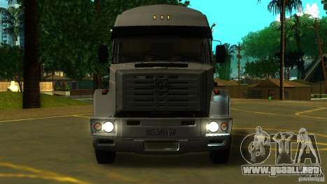 ZIL 5417 SuperZil para GTA San Andreas left
