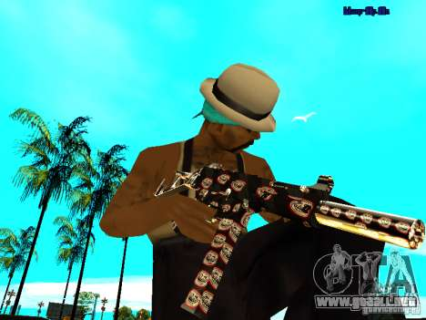 Trollface weapons pack para GTA San Andreas tercera pantalla