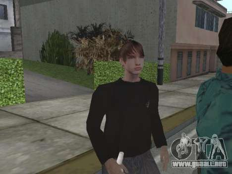 Nuevos aspectos Grove Street para GTA San Andreas tercera pantalla