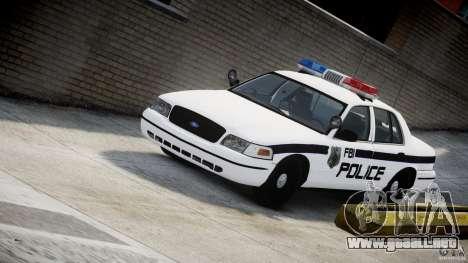 Ford Crown Victoria FBI Police 2003 para GTA 4