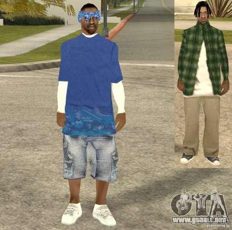 Compton Crips para GTA San Andreas tercera pantalla