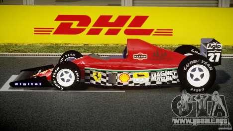 Ferrari Formula 1 para GTA 4 left