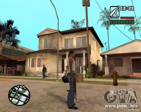 MP 40 para GTA San Andreas tercera pantalla