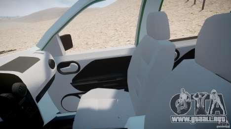 Ford EcoSport para GTA 4 vista hacia atrás