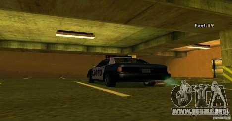 Merit Police Version 2 para la visión correcta GTA San Andreas