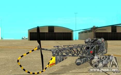 Sea Bell H13 para la visión correcta GTA San Andreas