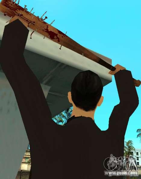 Pedacitos del sangrientos con clavos HD para GTA San Andreas segunda pantalla
