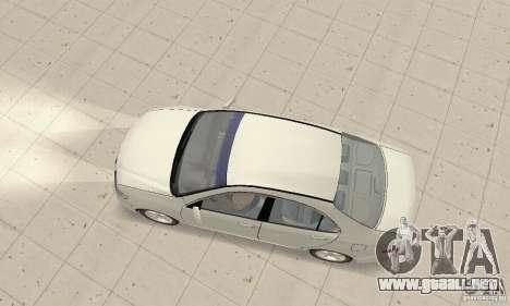 Honda Accord Comfort 2003 para GTA San Andreas vista posterior izquierda