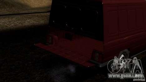 IZH 27175 para el motor de GTA San Andreas