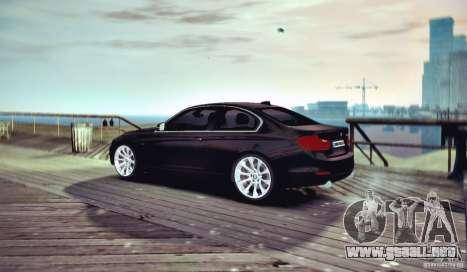 BMW 335i Coupe para GTA 4 visión correcta