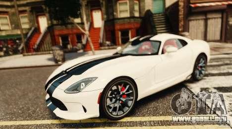 Dodge Viper GTS 2013 para GTA 4