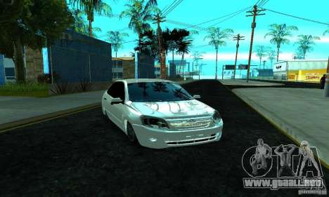 Lada 2190 Granta para GTA San Andreas vista hacia atrás