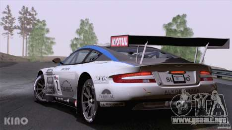 Aston Martin Racing DBRS9 GT3 para GTA San Andreas left