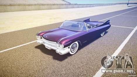 Cadillac Eldorado 1959 interior black para GTA 4 left