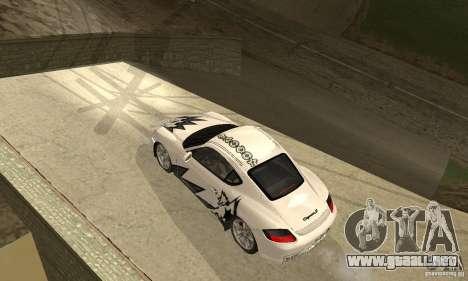Porsche Cayman S para el motor de GTA San Andreas
