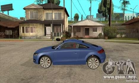 Audi TT 2007 para GTA San Andreas left