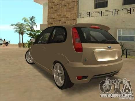 Ford Fiesta ST para GTA San Andreas left