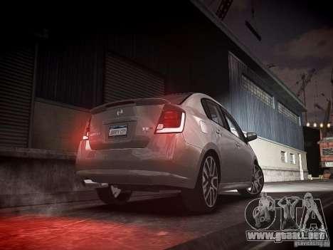 Nissan Sentra SE-R Spec V para GTA 4 Vista posterior izquierda