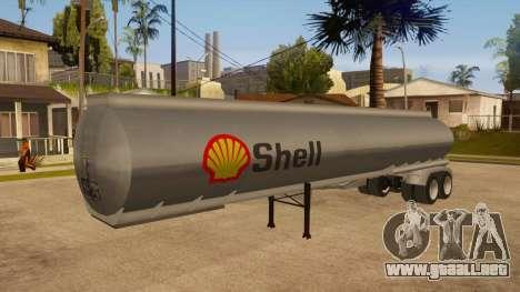 Tanque semi-remolque para GTA San Andreas
