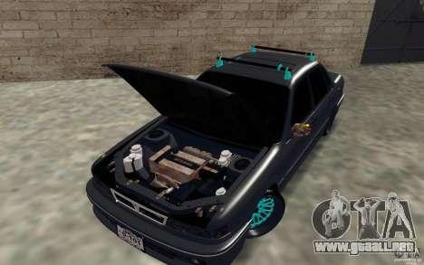 Mitsubishi Galant para GTA San Andreas vista hacia atrás