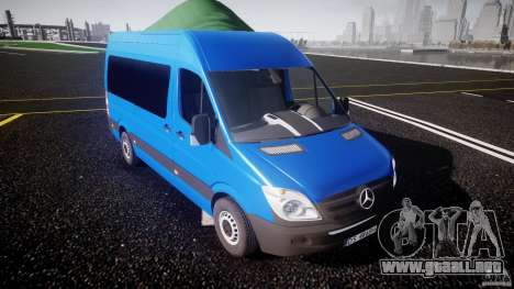 Mercedes-Benz ASM Sprinter Ambulance para GTA 4 vista interior