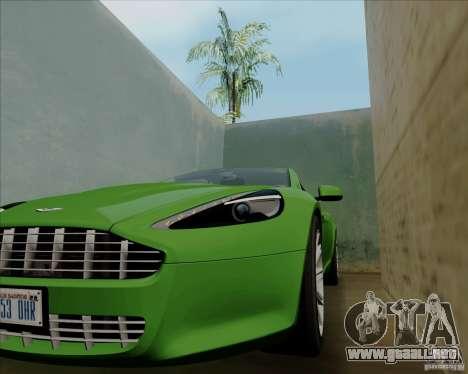 Aston Martin Rapide 2010 V1.0 para vista inferior GTA San Andreas