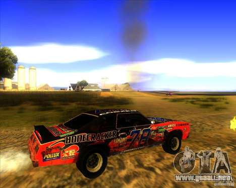 Bonecracker de FlatOut 1 para la visión correcta GTA San Andreas