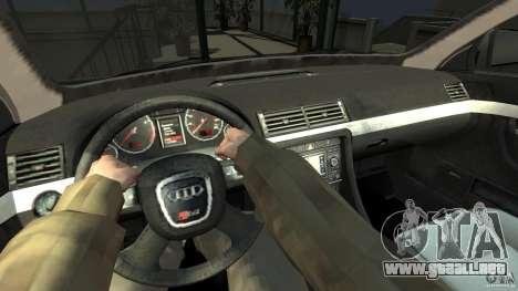 Audi S4 Quattro para GTA 4 visión correcta