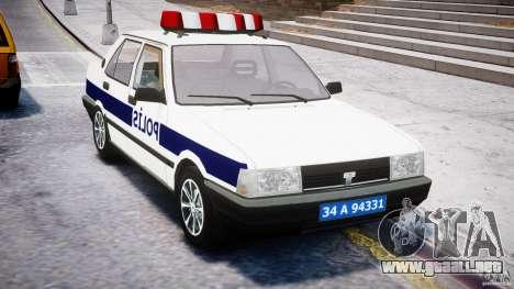 Tofas Sahin Turkish Police v1.0 para GTA 4 visión correcta