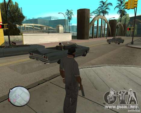 Police On Radar para GTA San Andreas segunda pantalla