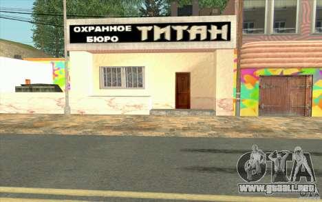Una aldea nueva Dillimur para GTA San Andreas twelth pantalla