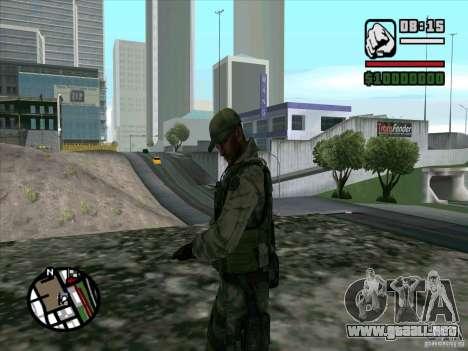 Dave de Resident Evil para GTA San Andreas segunda pantalla