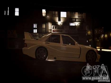 Mercedes 190E Evo2 para GTA 4 visión correcta