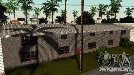 Apartamento de dos habitaciones para GTA San Andreas sucesivamente de pantalla