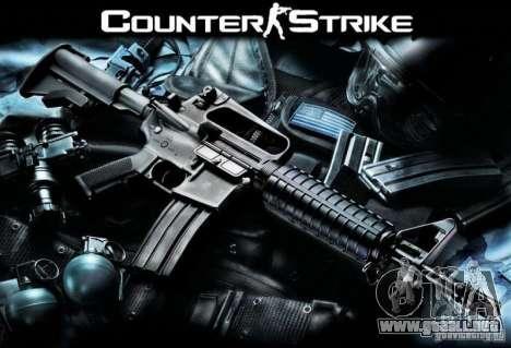 Armas de Counter Strike para GTA San Andreas