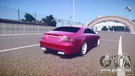 Mercedes Benz CLS Light Tuning v1.0 Beta para GTA 4 vista lateral