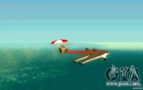 FlexyDolphin para GTA San Andreas left
