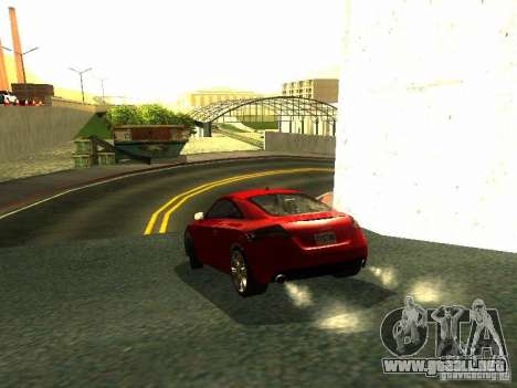 Audi TT 2009 v2.0 para la visión correcta GTA San Andreas
