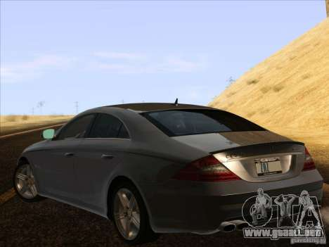 Mercedes-Benz CLS63 AMG para GTA San Andreas left