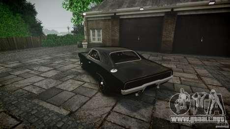 Dodge Charger RT 1969 para GTA 4 vista desde abajo